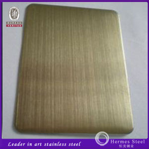 Antique Bronze Decorative Hairline Stainless Steel Color Sheet Price Per Sheet pictures & photos