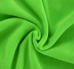 Bright Plain Polar Fleece Fabric pictures & photos