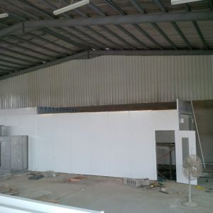 Paint Booth with Water Curtain Industrial Spray Painting Line pictures & photos