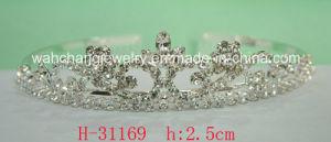 Bridal Rhinestone Wedding Tiara H-31169 for Lady for Holday