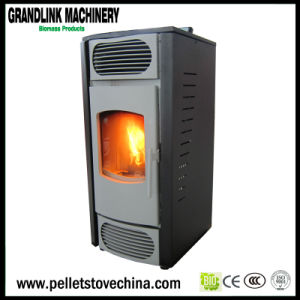 Morden Design Small Pellet Stove 7kw pictures & photos