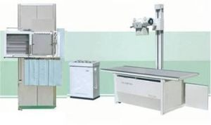 Normal Freuency X-ray Unit 300mA, Digital Radiography System, Fluoroscopy Machine pictures & photos