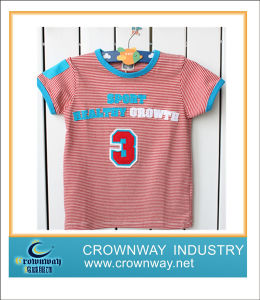Fashion Children Printed T-Shirt for School Boys pictures & photos