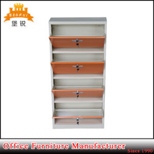 Home Furniture Cheap Metal Steel Shoe Cabinet for Sale Jas-036b pictures & photos