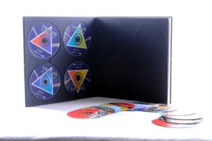 China Music CD Replication with Slipcase Packing Cardboard Packing
