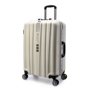 Best Selling Travel Trolley Luggage with Patch Logo and Aluminum Luggage and Luggage Sets pictures & photos
