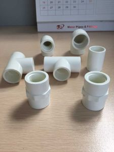 White Tee / PVC Sch40 Pipe Fittings for Water Supply pictures & photos