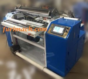 PLC Controlled Ticket Paper Roll Slitting Rewinding Machine, Thermal Paper Slitter Rewinder, EPC Tracking Paper Slitter pictures & photos