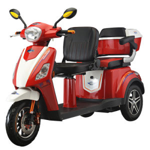 China High Quality 3 Wheel Electric Mobility Scooter 500W Motor for Sale pictures & photos