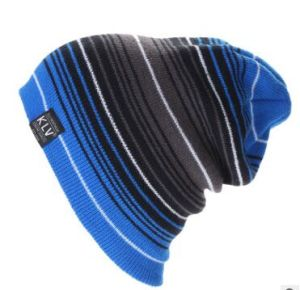 Custom Fashion Colorful Strips Beanie, Winter Caps, Warm Caps, in Various Colors, Sizes, Designs and Materials pictures & photos