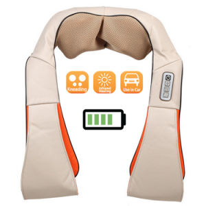 Battery Operated Shiatsu Neck and Back Whole Body Massager pictures & photos