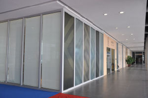 Office Partition Walls/Glass Partition Wall/Aluminum Partitions pictures & photos