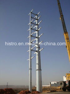 Electric Transmission Tower with Tubular Steel