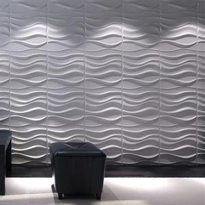 High Quality Bamboo Fiber 3D Wall Panels