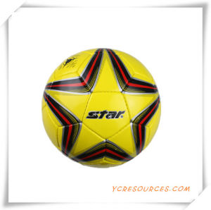 Metallic Leather PU Soccer Ball for Promotion pictures & photos