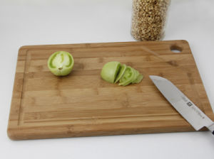 Bamboo Chopping Cutting Board Hb2236 pictures & photos
