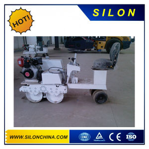 Hydraulic Turning Double Drum Walk Behind Road Roller pictures & photos