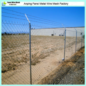 50X50mm Mesh Opening Hot DIP Galvanized Chain Link Fencing pictures & photos