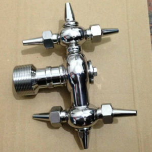 Dn40 AISI316 Stainless Steel Sanitary Bsp Male Thread Washing Nozzle pictures & photos