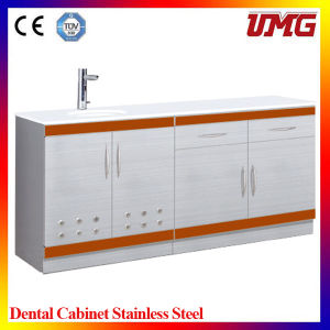 Stainless Steel Console Table/Hospital Instrument Cabinet pictures & photos