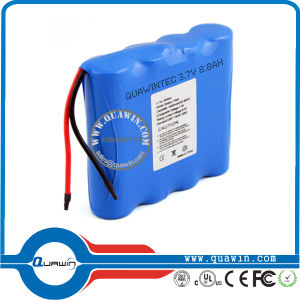 3.7V 8800mAh 18650 Battery Pack pictures & photos