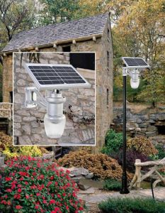 Integrated Outdoor Solar LED Garden Motion Sensor Wall Light pictures & photos