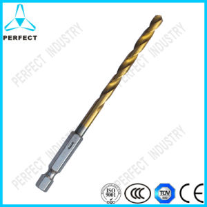 Tin Coating Hex Shank HSS Twist Drill Bits pictures & photos