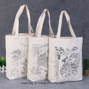 Promotion Wholesale Logo Customized Cotton Tote Hand Bag pictures & photos
