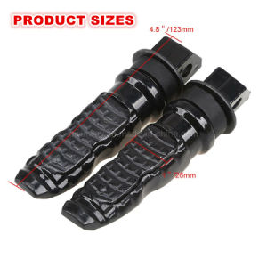 Ww-3537, Motorcycle CNC Rubber Part Rest Pedal for All Models pictures & photos