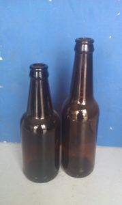 Amber Beverage Bottle/Glass Drinking Bottle/Beer Container pictures & photos