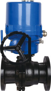 Electric Wcb Flange Ball Valve with Explosion-Proof Actuator pictures & photos