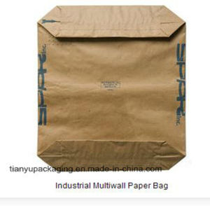 Kraft Paper Bag with Valve for Industrial Use pictures & photos