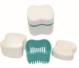 Cheapest Plastics Colorful Denture Storage Box Dental Prodcuts pictures & photos