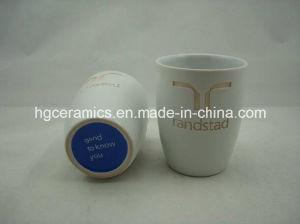 Laser Engraved Ceramic Mug, No Handle, Coffee Mug pictures & photos