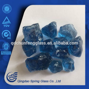 Deep Blue Glass Stones 1-3cm pictures & photos
