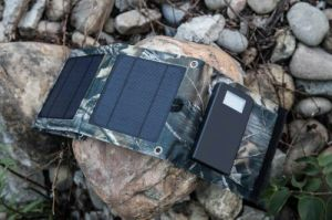 Solar Mobile Power Bank with Portable Foldable Charger Bag pictures & photos