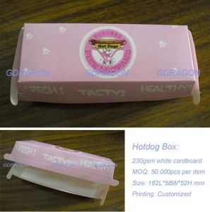 Customized High Quality Hot Dog Box From China pictures & photos