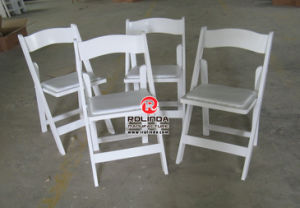 Wholesale White Resin Folding Chair for Banquet pictures & photos