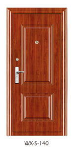 Steel Security Door (WX-S-140) pictures & photos
