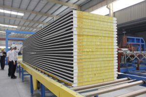 Glass Wool Sandwich Panels for Roof and Wall pictures & photos