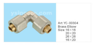 Brass Folding Compression Fittings for Pex-Al-Pex Pipes