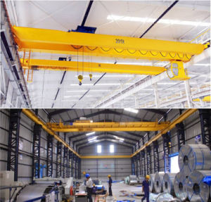 European Style Electric Double Beam Overhead Bridge Crane pictures & photos