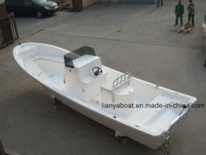 Liya 7.6m Fiberglass Fishing Boat Made in China Panga Boat for Sale pictures & photos