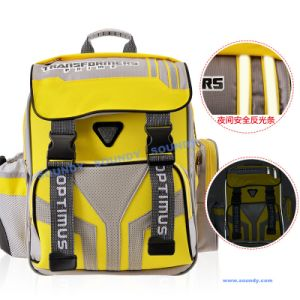 Transformer Cool Backpack with Reflective Straps on The Front / School Bag