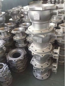 Stainless Steel Ball Valve Body (DN50-DN200) pictures & photos