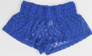 Ladies Sexy Lace Short Cover up Make of 100%Polyester pictures & photos
