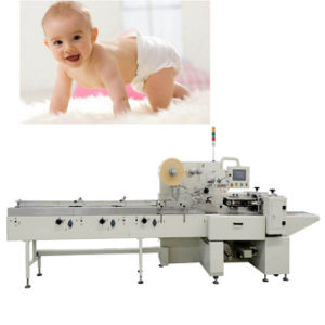 Baby Diaper Packing Machine for Baby Diapers Package pictures & photos