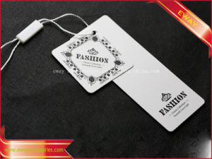 Garment Paper Hang Tag Plastic Seal Tag pictures & photos