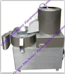 Stainless Steel Potato Washer/Peeler/Slicer Machine pictures & photos