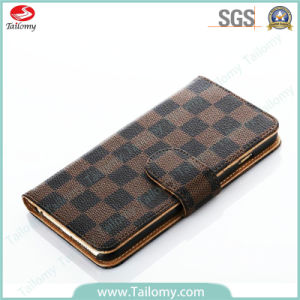 New Arrival Leather Wallet Case for iPhone 6 with Card Pocket